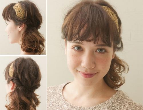 3 biến tấu xinh yêu cho kiểu tóc xoăn nhẹ - 1