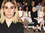Mandatory Credit: Photo by Steve Eichner/WWD/REX Shutterstock (5074360w)\n Alexa Chung, Solange Knowles, Zosia Mamet, Maime Gummer and Kiernan Shipka in the front row\n Philip Lim show, Spring Summer 2016, New York Fashion Week, America - 14 Sep 2015\n \n