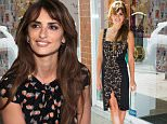 Penelope Cruz, co-designer of L�Agent by Agent Provocateur, celebrates the new FW15 collection dropping during Fashion Week on Monday, Sept. 14, 2015 in New York. (Photo by Charles Sykes/Invision/AP)