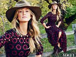 Vogue Australia October 2015, Delta Goodrem - photography by Hugh Stewart.jpg\n\nGood morning,\n\nThe Vogue Australia October issue is on sale today featuring Naomi Watts on the cover.\n\nWatts stars in a beautiful main fashion shoot, Role Model photographed by Nathaniel Goldberg and styled by Christine Centenera. Watts sat down with Vogue Australia and talked sending love letters to Matthew McConaughey in preparation for their roles Gus Van Sant's drama The Sea of Trees, the equality shift in Hollywood, her upcoming film About Ray that stars Elle Fanning as a teenager who transitions from female to male, and striving for a work-life balance.\n\nThe October issue is largely inspired by the diverse culture of modern Mexico along with the dramatic landscapes of New Mexico in the United States and the extraordinary artist Georgia O'Keeffe. Vogue Australia was given unprecedented access to one of O'Keeffe's homes and the resulting 26 page fashion story in the October issue is breathtaking
