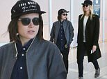 Picture Shows: Ellen Page, Samantha Thomas  September 14, 2015\n \n Celebrities are spotted at the airport, leaving Toronto after the Toronto International Film Festival. \n \n Non Exclusive\n UK RIGHTS ONLY\n \n Pictures by : FameFlynet UK � 2015\n Tel : +44 (0)20 3551 5049\n Email : info@fameflynet.uk.com