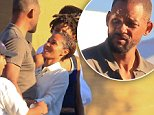 Please contact X17 before any use of these exclusive photos - x17@x17agency.com   Still in love? Will Smith and Jada Pinkett have pda outside Nobu on sunday sept 13, 2015 /X17online.com
