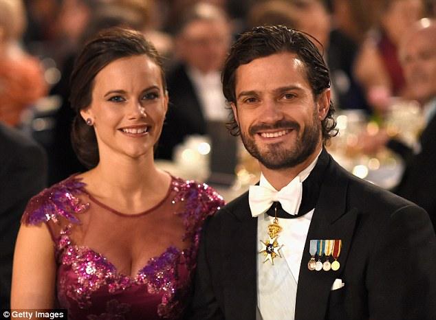 Next in line: Prince Carl Philip will marry fiancee Sofia Hellqvist in Stockholm on the 13th June