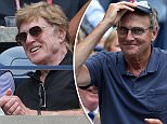 12/9/2015 US Open Tennis Championship Flushing Meadow New York USA  Women's Singles Final -Actor Robert Redford Watches \nPicture Dave Shopland/Daily Mail