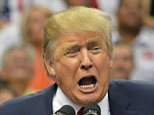 Donald Trump spoke for more than an hour at a rally in Dallas, Texas on Sept. 14, 2015 at the American Airlines Center arena