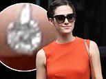 Beverly Hills, CA - Actress, Emmy Rossum, looks chic in a coral dress and head braid as she walks around Beverly Hills sporting her new engagement ring.\nAKM-GSI         September 14, 2015\nTo License These Photos, Please Contact :\nSteve Ginsburg\n(310) 505-8447\n(323) 423-9397\nsteve@akmgsi.com\nsales@akmgsi.com\nor\nMaria Buda\n(917) 242-1505\nmbuda@akmgsi.com\nginsburgspalyinc@gmail.com