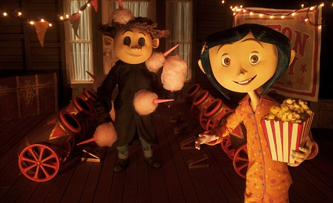 Coraline: The film was a hit this year with its 3D element adding to its appeal