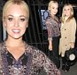 HOLLYOAKS GIRLS JORGIE PORTER AND JAZZ FRANKS SEEN LEAVING ROSSO RESTAURANT IN MANCHESTER\n\n*****NON EXC ALL ROUND PICS*****\n\nPICTURES BY STEPHEN FARRELL\n07870 606209\n\n\n\n