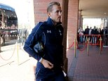 """Tottenham Hotspur's Harry Kane arrives before the Barclays Premier League match at the Stadium of Light, Sunderland. PRESS ASSOCIATION Photo. Picture date: Sunday September 13, 2015. See PA story SOCCER Sunderland. Photo credit should read: Richard Sellers/PA Wire. EDITORIAL USE ONLY. No use with unauthorised audio, video, data, fixture lists, club/league logos or """"live"""" services. Online in-match use limited to 45 images, no video emulation. No use in betting, games or single club/league/player publications."""