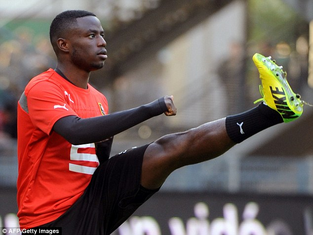 Best foot forward? Paul Georges Ntep scored an outrageous goal that was either entertaining or insulting