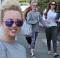 HOLLYOAKS GIRLS GEMMA MERNA, JORGIE PORTER AND NICOLE BARBER LANE SEEN ARRIVING AT HAPPINESS YOGA IN LIVERPOOL \n\n***EXC ALL ROUND*** \n\n***iCelebTV.com***\n