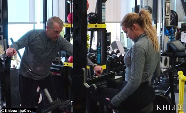 Dedicated: The 31-year-old has overhauled her body with intense gym sessions, after turning to workouts to help deal with the stress of her marriage breakdown