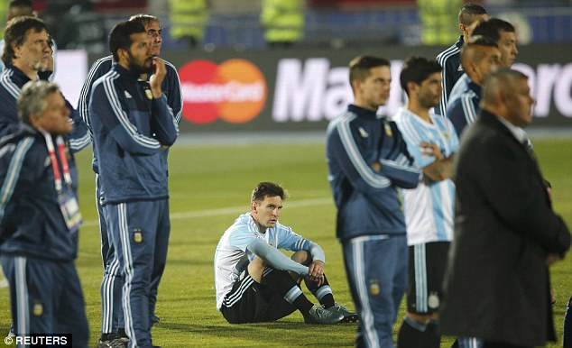 Lionel Messi was called lazy by his own grandfather for his performances at the Copa America