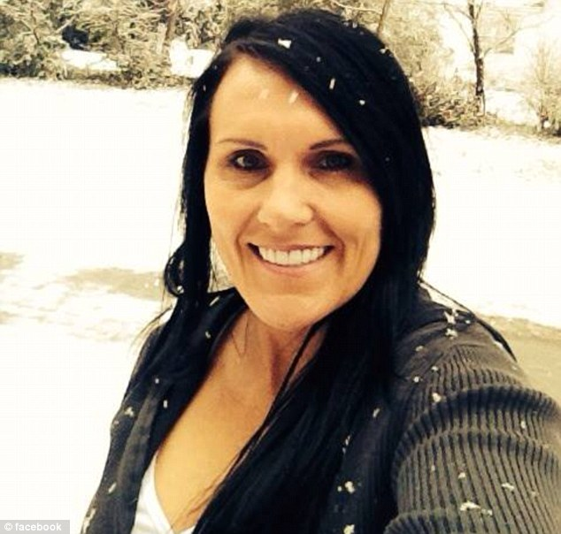 Victim: Amy Prentiss, 41, was shot dead at a home in Gautier, Miss., on Monday. She was killed by her boyfriend, Shannon Lamb, but he told his family before he committed suicide that it was 'an accident'