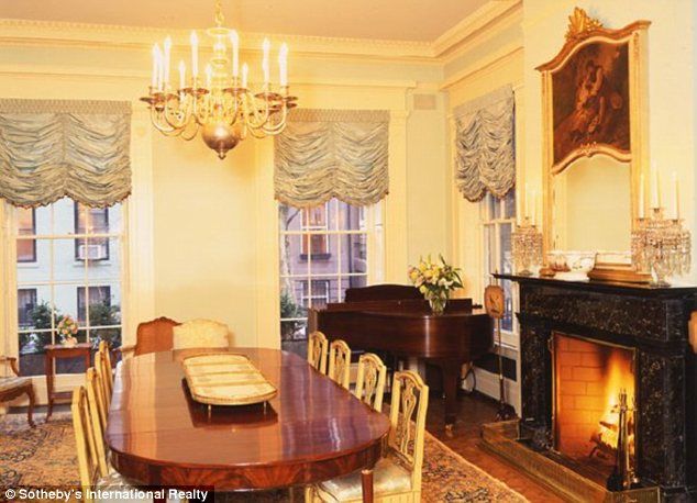 Luxurious: This house in Brooklyn Heights has just been sold to an unidentified buyer for $12million
