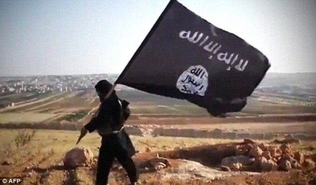 Growth: And yet the terror group expanded its territory and recruited 'thousands' of new foreign fighters since an international 'task force' to 'eliminate' ISIS (file photo) in October 2014