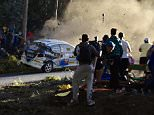At least 3 dead in Carral Spain, after a rally car crashes into crowd.  Taken from open web pages, links below taken without permission at the request of the Newsdesk, please legal before publishing  https://twitter.com/jromerocastro