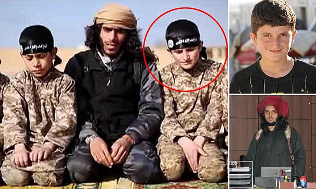Boy in ISIS propaganda video reveals how he was taught how to kill