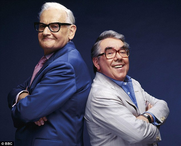 The Two Ronnies: Ronnie Corbett is probably best known for his hilarious double act with Ronnie Barker, who sadly died in October 2005