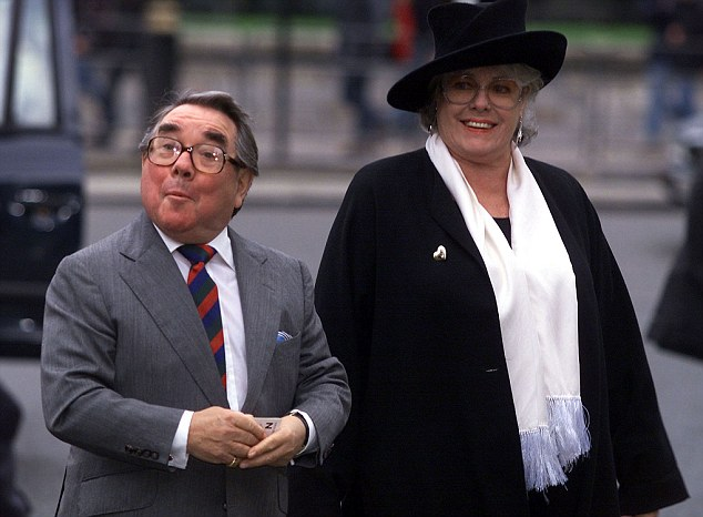 Loving Couple: Ronnie Corbett and his wife Anne have been together for 47 years and he says she has been the cornerstone of his success