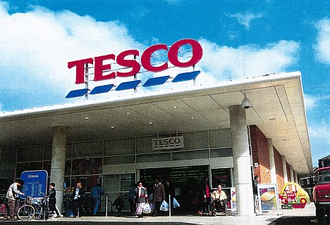 Supermarket sweep: Tesco remains the UK's biggest and richest retailer and is on course to make profits of more than £3.5billion this year