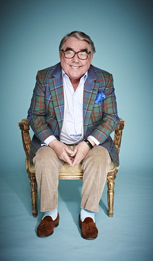 And it's not good night from him: Adored comic Ronnie Corbett has been delighting TV fans for years