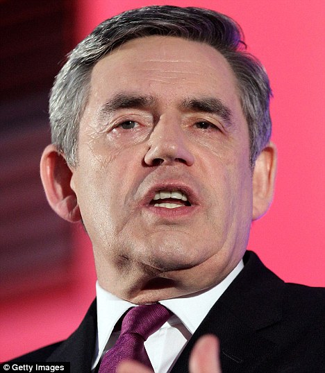 J'accuse: One man is to blame for the economic mess in which Britain finds itself- Gordon Brown