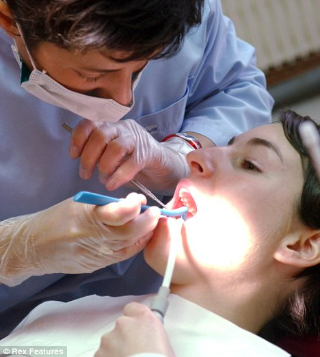 Sensitive teeth: Regular dental appointments can flag up receding gums early