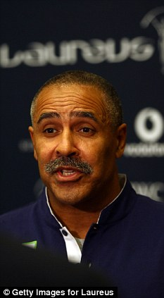 Speaking out: Daley Thompson