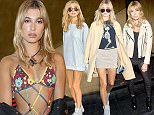 Mandatory Credit: Photo by Steve Eichner/WWD/REX Shutterstock (5074335o)  Hailey Baldwin in the front row  Rag and Bone show, Spring Summer 2016, New York Fashion Week, America - 14 Sep 2015