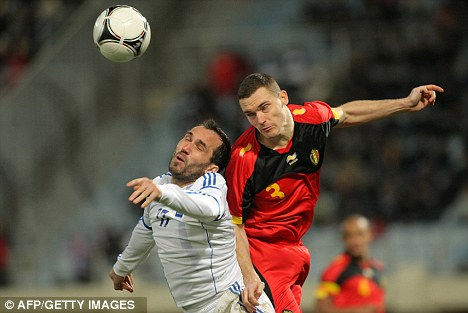Outburst: Arsenal boss Arsene Wenger expressed his dismay over Thomas Vermaelen's inclusion for Belgium