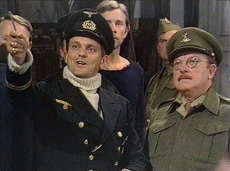 """Infamous: Philip Madoc played a German U-boat captain in the priceless """"Don't tell him Pike"""" incident in the The Deadly Attachment episode of Dad's Army from October 1973"""