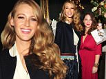 EXCLUSIVE FAO DAILY MAIL ONLINE ONLY - FEE AGREED\n Mandatory Credit: Photo by Startraks Photo/REX Shutterstock (5080071p)\n Blake Lively, Angie Niles\n 'Bright Lights Paris' book launch, New York, America - 12 Sep 2015\n Blake Lively celebrates the launch of her best friend's book Bright Lights Paris\n