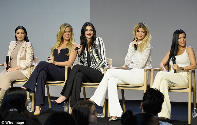 Launch: The siblings launched four of their five sites in New York on Monday at the Soho Apple store