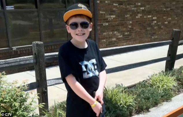 Conclusion: Concluding the trial, the court's judge said she hopes one day the boy's attackers will one day come forward and take responsibility for their crime