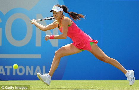 Serb and volley: Venus beat former world No 1 Ana Ivanovic in straight sets