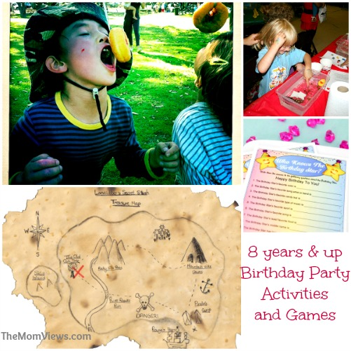 Birthday Games for 10 year old