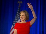 Republican presidential contender Carly Fiorina speaks at the National Federation of Republican Women Convention at JW Marriott Desert Ridge Resort & Spa in Phoenix, Ariz., on Friday, Sept. 11, 2015. (Cheryl Evans/The Arizona Republic via AP)