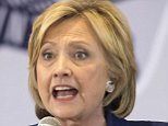 Democratic presidential candidate Hillary Rodham Clinton speaks during an organizing event at the University of Northern Iowa, Monday, Sept. 14, 2015, in Cedar Falls, Iowa. (AP Photo/Scott Morgan)