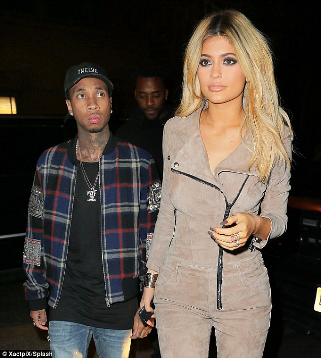 Date night: Kylie and Tyga have been spotted at various events over the weekend at New York Fashion Week