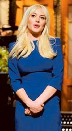 Lindsay was proud of her SNL appearance