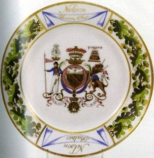 A £10,000 saucer, part of an 1802 tea service, was also stolen from the castle
