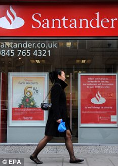 Big deal: Will Santander's rivals try to beat its leading 3.3 per cent instant access account?