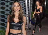 NEW YORK, NY - SEPTEMBER 14:  Model Alessandra Ambrosio is seen in Murray Hill on September 14, 2015 in New York City.  (Photo by Michael Stewart/GC Images)