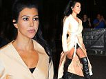 Kourtney Kardashian go to dinner at Il Mulino with Kim, Khloe, Kylie, Tyga in New York City.\n\nPictured: Kourtney Kardashian\nRef: SPL1125321  130915  \nPicture by: XactpiX/Splash\n\nSplash News and Pictures\nLos Angeles: 310-821-2666\nNew York: 212-619-2666\nLondon: 870-934-2666\nphotodesk@splashnews.com\n