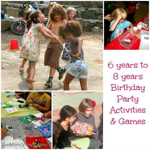 Kids Birthday Party Activities