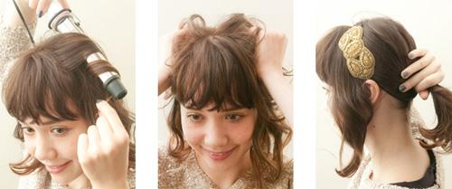 3 biến tấu xinh yêu cho kiểu tóc xoăn nhẹ - 2