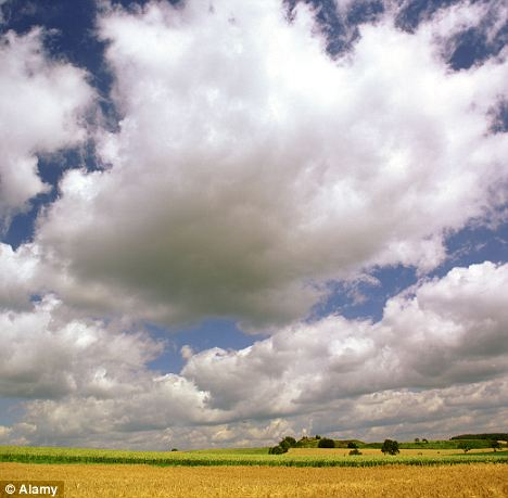 Blue-sky thinking: Strange noises have been heard coming from above, but experts say there are rational explanations