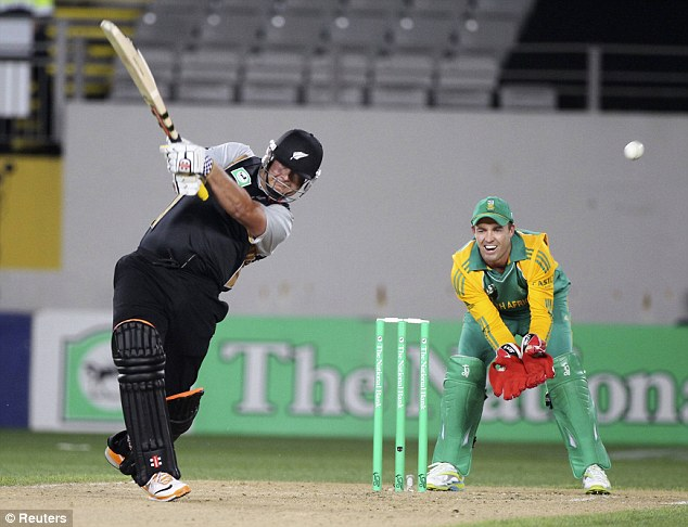 Swashbuckling: Jesse Ryder's (left) attacking batting has won him many fans but he has often been in trouble