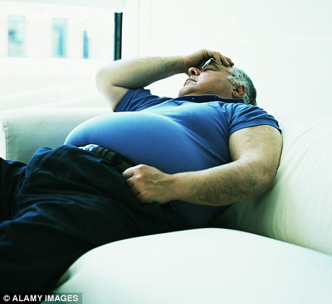 Incapacitated? Around £7million of taxpayers' money is being spent on obese people who say they cannot work because of their weight